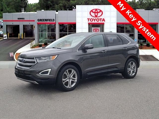 Ford Edge Titanium In Greenfield Ma Ford Of Greenfield